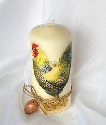 Svietidlá a sviečky - Veľkonočná sviečka - Na dvore - 6544487_