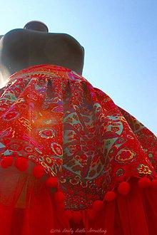 Sukne - GIPSY RED No.2 - 6544390_