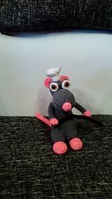 Hračky - Háčkovaný potkan - 6543852_