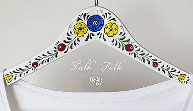 Nábytok - Maľovaný vešiak Lisa - 6546746_