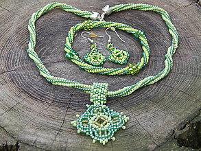 Sady šperkov - Zelené jablko - 6545311_