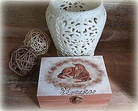 Krabičky - Koníková krabička pre Terezku :) - 6544751_