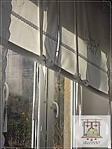 Úžitkový textil - Roleta,záclona - 6544562_