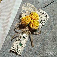 Pierka - Veľké svadobné pierka Village - slnečnicové - 6543580_