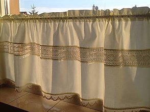 Úžitkový textil - Záclonka