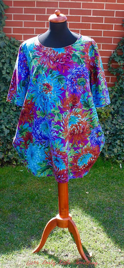 Ó, šaty: Shaggy Blue