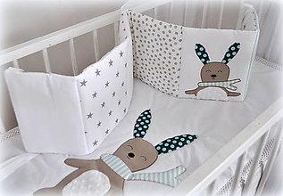 Textil - Mantinel do postieľky 240x25cm - 6552411_