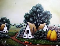 Moja krajina - olejomaľba na plátne