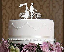 Darčeky pre svadobčanov - ozdoba na tortu - 6551372_