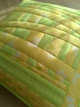 Úžitkový textil - Slnečný vankúš. . . - 6552740_