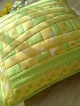 Úžitkový textil - Slnečný vankúš. . . - 6552754_