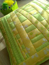 Úžitkový textil - Slnečný vankúš. . . - 6552765_