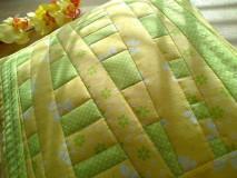Úžitkový textil - Slnečný vankúš. . . - 6552767_