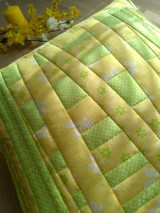 Úžitkový textil - Slnečný vankúš. . . - 6552776_