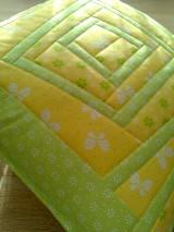 Úžitkový textil - Slnečný vankúš. . . - 6552828_