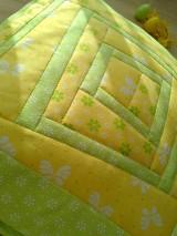 Úžitkový textil - Slnečný vankúš. . . - 6552831_