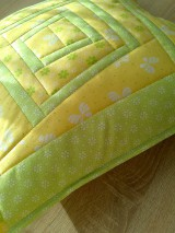 Úžitkový textil - Slnečný vankúš. . . - 6552843_