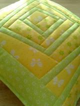 Úžitkový textil - Slnečný vankúš. . . - 6552847_