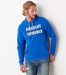 Oblečenie - Absolut trouble - man hoodie - 6551371_
