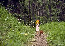 Grafika - Po lesných chodníčkoch - 6551375_