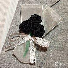 Pierka - Veľké svadobné pierka Folk - čierne - 6553874_