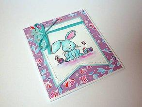 Papiernictvo - Veľkonočný zajačik - 6555366_