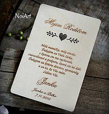 Darčeky pre svadobčanov - Poďakovanie rodičom 11 - 6557113_