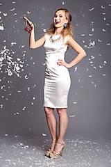 Šaty - Little white dress - 6554841_