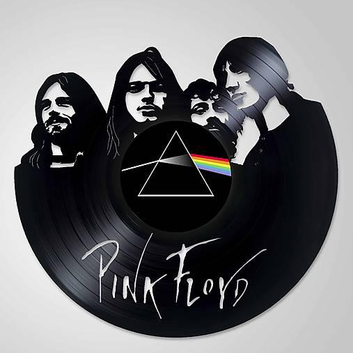 Pink Floyd - obraz z vinylu na stenu