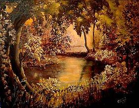 Obrazy - oáza pokojaII- na želanie - 6555422_