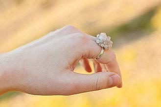 Prstene - Guličkové prstene (slnečný kameň) - 6557099_