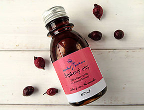 Suroviny - Šípkový olej (100 ml) - 6557017_