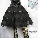 - Gotická spoločenská sukňa - 6554869_