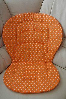 Textil - Univerzálna podložka oranžová - 6556002_