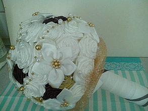 Kytice pre nevestu - vanilka a čokoláda - 6561561_