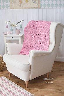 Úžitkový textil - Háčkovaná deka ... \