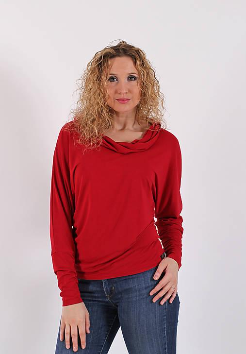 6b4bb897d934 Volná červená tunika   ladeesse - SAShE.sk - Handmade Tuniky