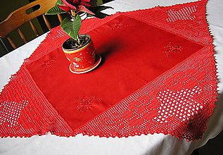 Úžitkový textil - ***obrus Cleopatra  *** - 6561566_