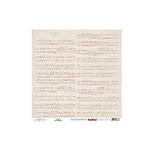 Papier - Papier 30,5x30,5cm Juliet - Notation - 6559875_