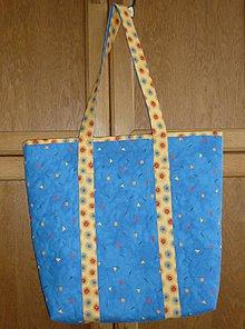 Veľké tašky - Taška modrá veľká - 6562233_