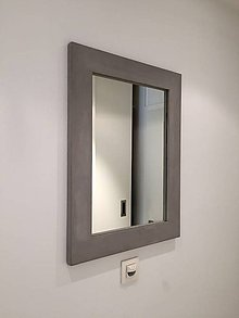 Zrkadlá - Betónové zrkadlo BELO - 6559379_
