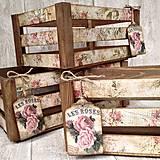 Krabičky - Bedničky Roses - 6559330_