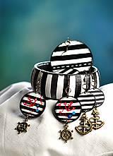 - Pásikavá sada šperkov - Strajpy - 6561785_