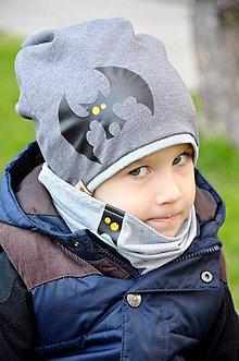 Detské súpravy - Jarná  súprava netopier BOY - 6561860_