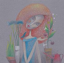 Kresby - keď spievaš kvetine - 6565392_