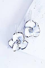 Náušnice - náhrdelník porcelán_ kvetinová - 6565406_