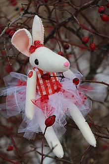 Bábiky - Myška Vilma - 6563399_