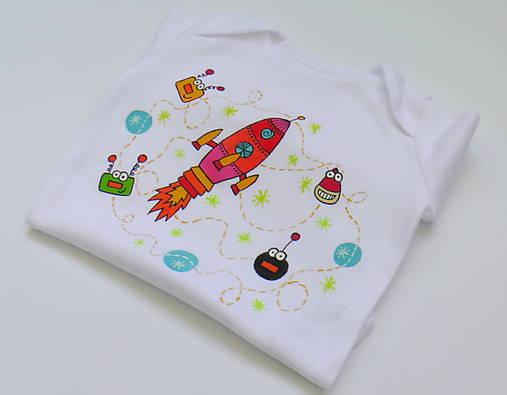 92dd645d9a70 Detské body Vesmír pre dievčatko   KidsBrights - SAShE.sk - Handmade ...