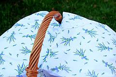 Úžitkový textil - Nezábudka: Pohánkový nahrievací vankúšik Levanduľa - 6564159_