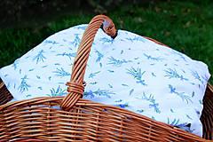 Úžitkový textil - Nezábudka: Pohánkový nahrievací vankúšik Levanduľa - 6564161_